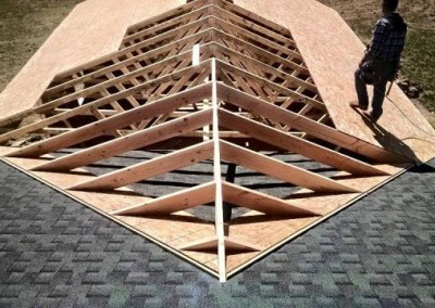 Annapolis Roofing Install in Progress