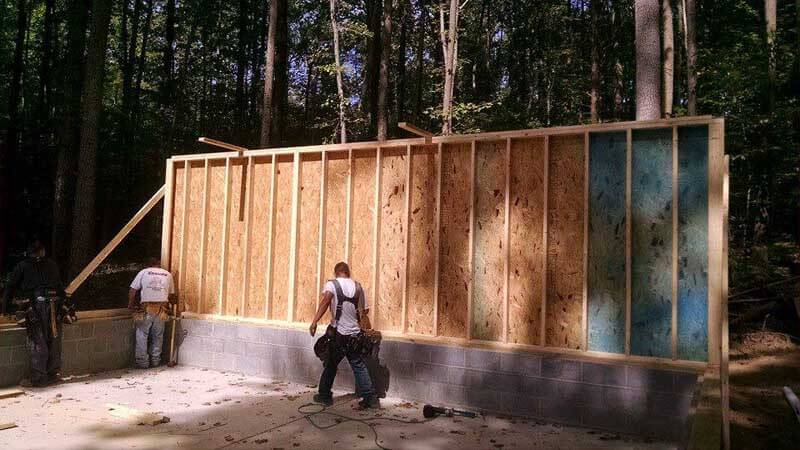 Garages John Krause Construction Lusby Md
