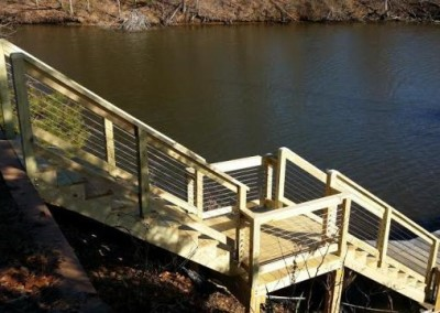Album Southern Md Pier Stairs John Krause Construction